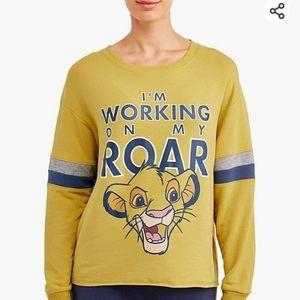Disney The Lion King Simba Crewneck Sweater